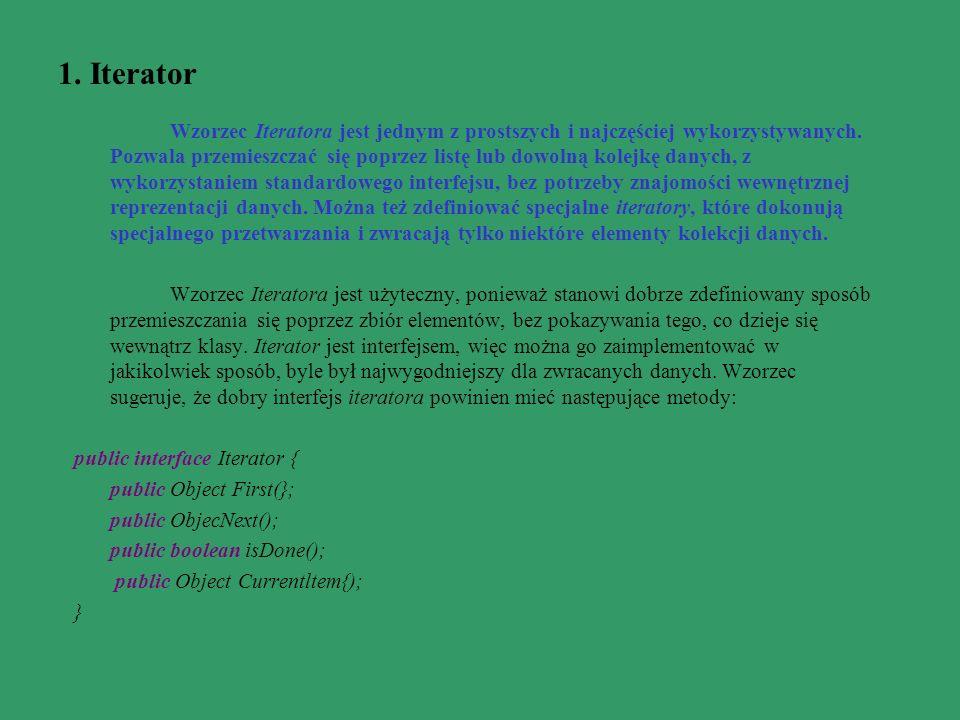 1. Iterator