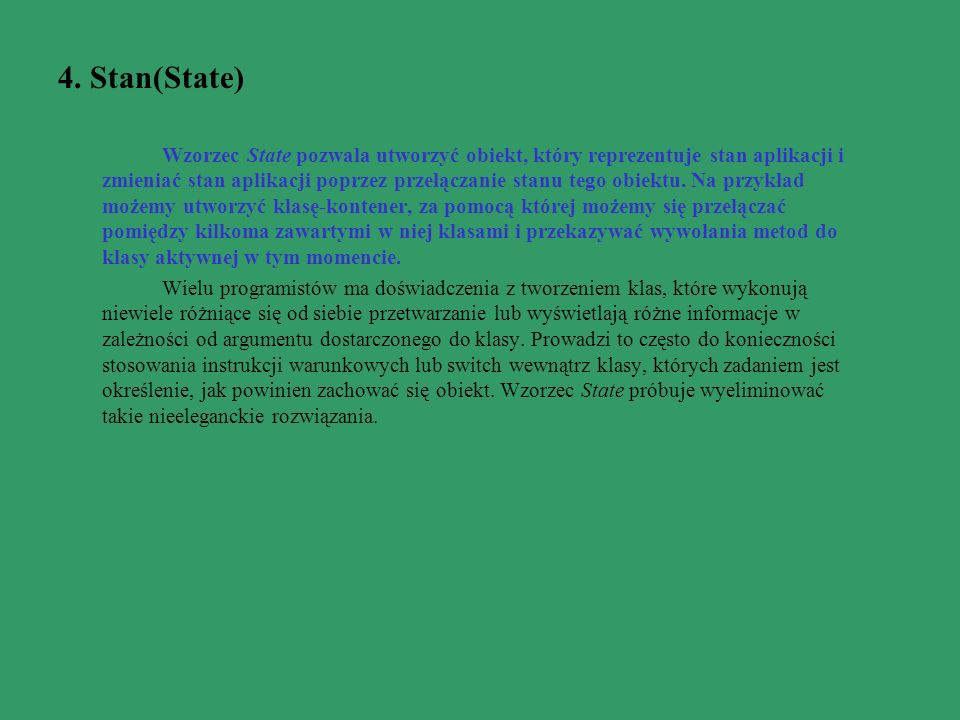 4. Stan(State)