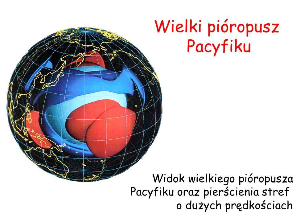Wielki pióropusz Pacyfiku Widok wielkiego pióropusza
