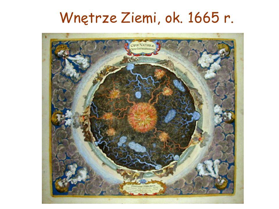 Wnętrze Ziemi, ok. 1665 r.