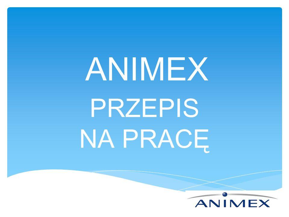 ANIMEX PRZEPIS NA PRACĘ