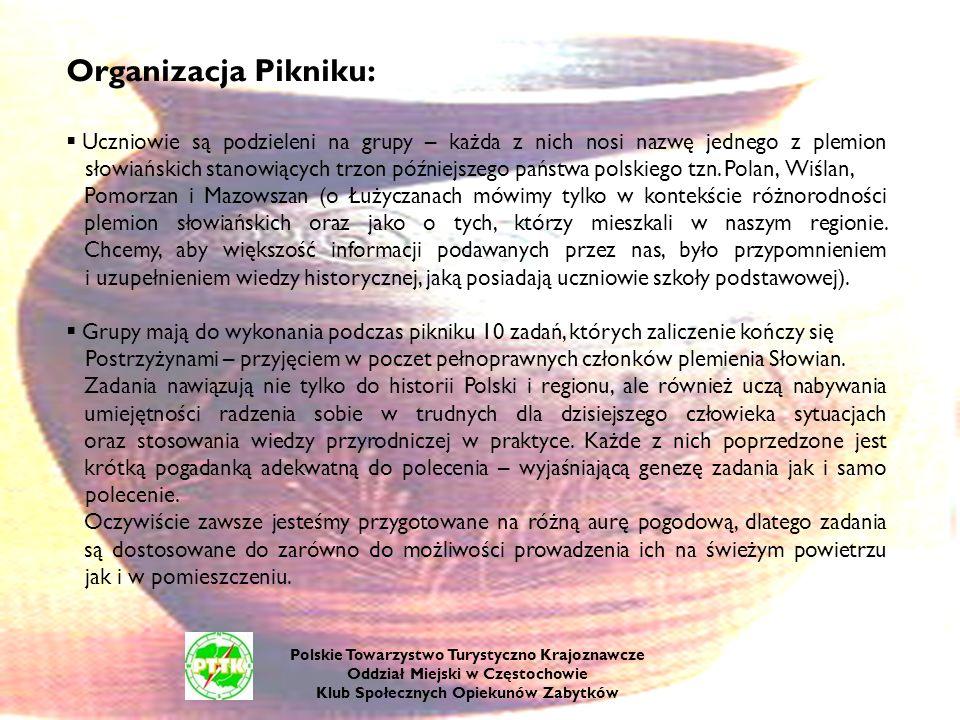 Organizacja Pikniku:
