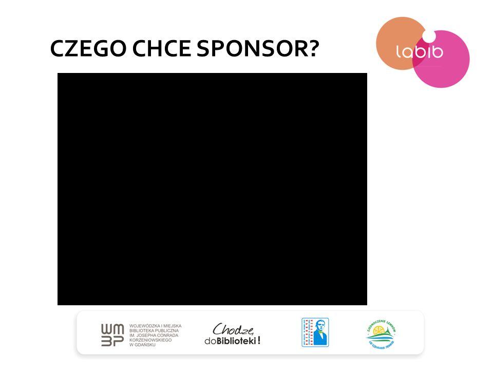 CZEGO CHCE SPONSOR