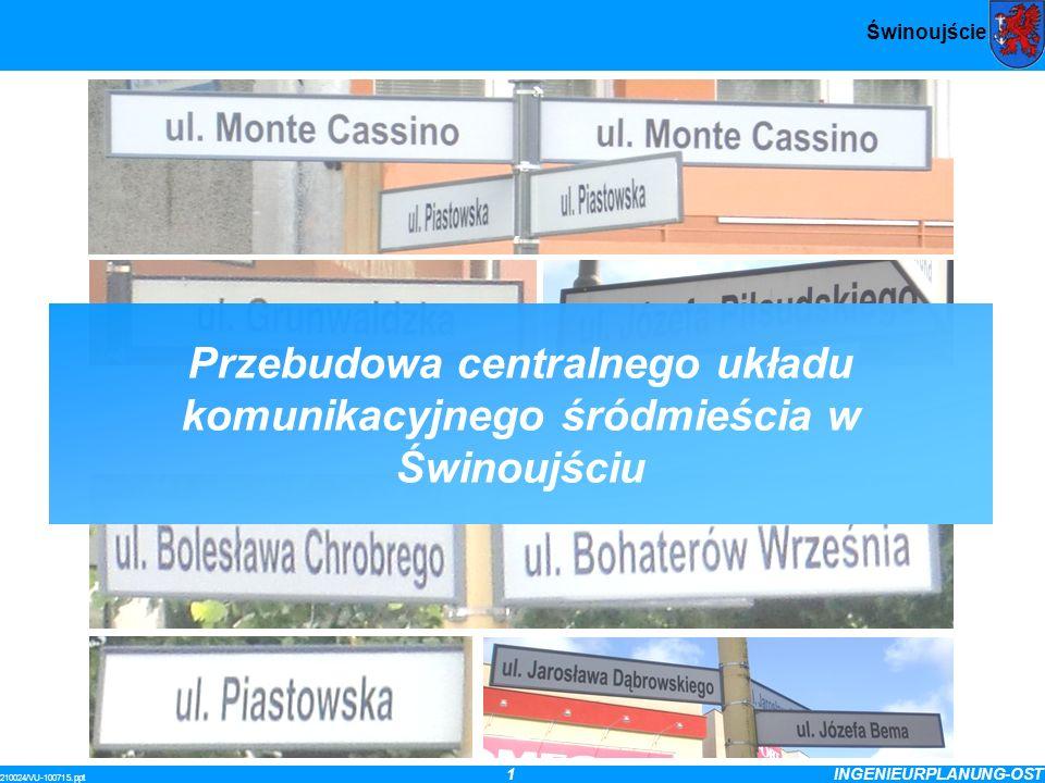 Przebudowa centralnego układu komunikacyjnego śródmieścia w Świnoujściu