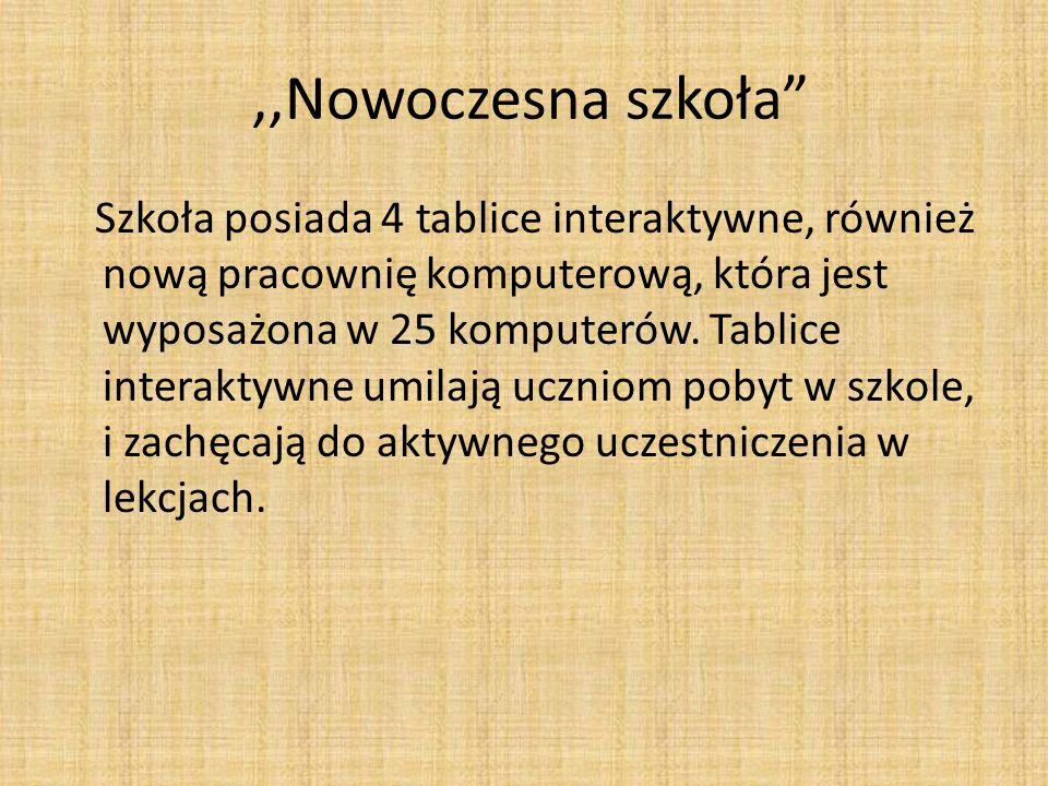 ,,Nowoczesna szkoła