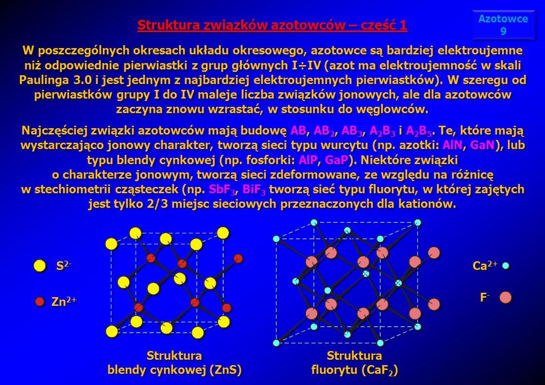Struktura związków azotowców – część 1