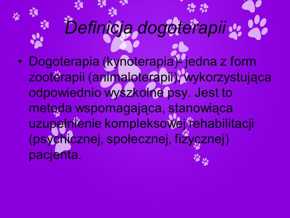 Definicja dogoterapii