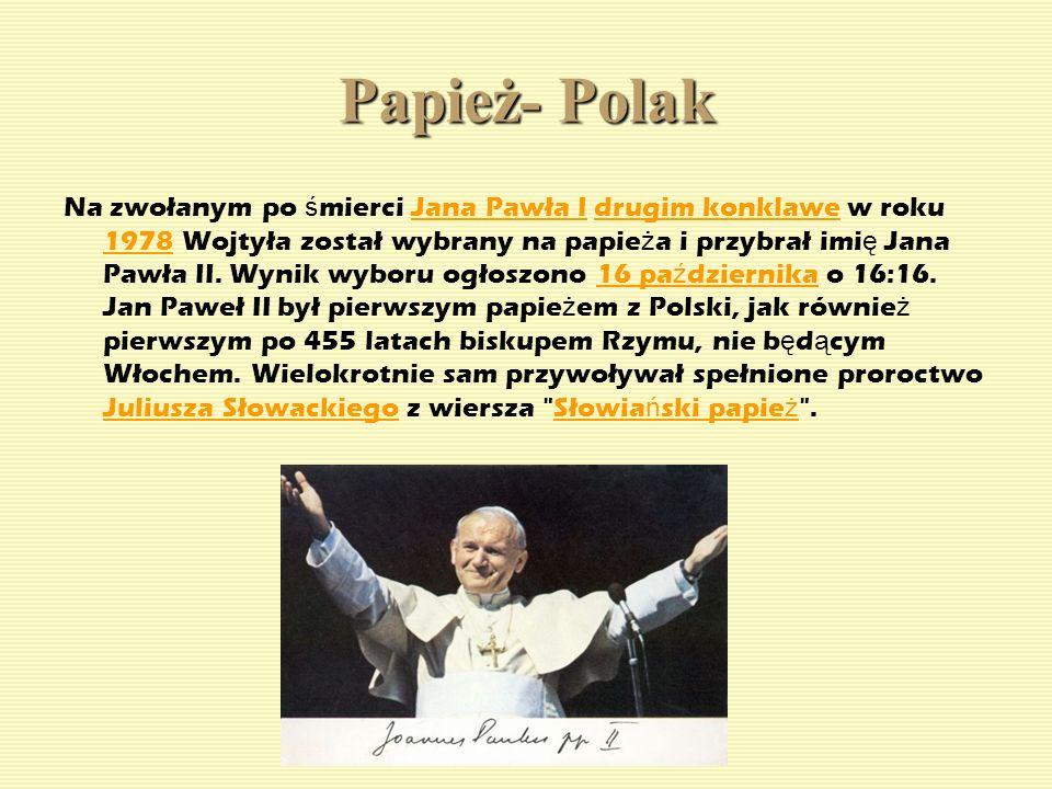 Papież- Polak