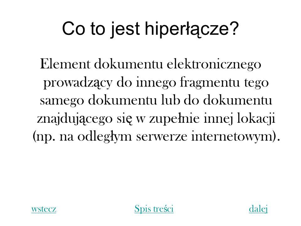 Co to jest hiperłącze
