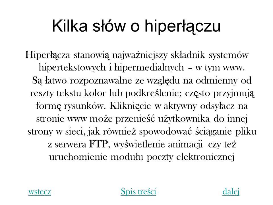 Kilka słów o hiperłączu