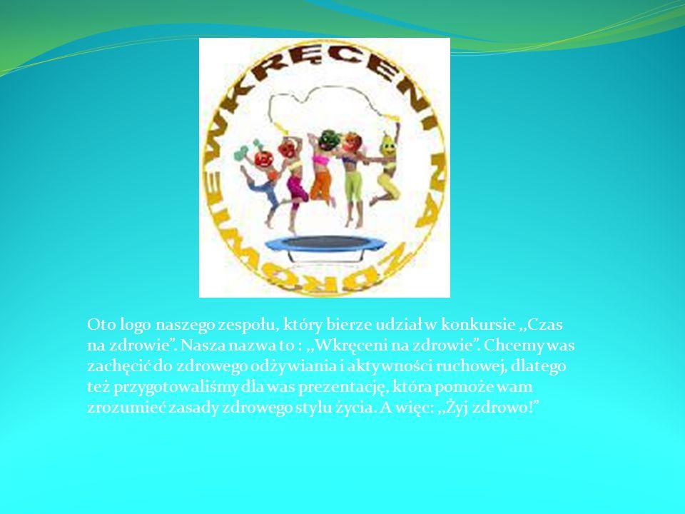 Oto logo naszego zespołu, który bierze udział w konkursie ,,Czas na zdrowie .