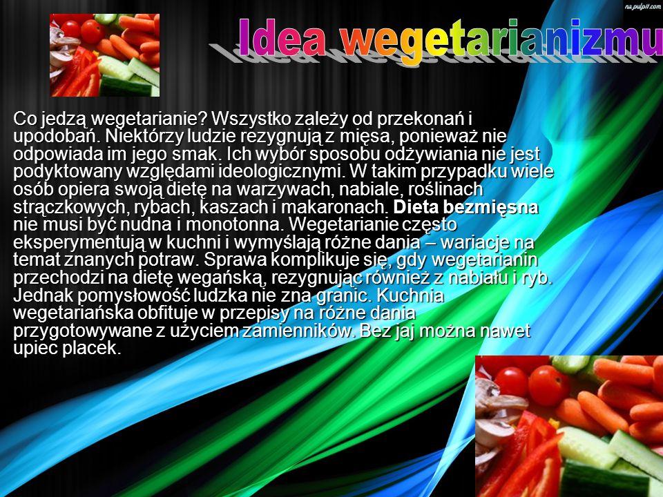 Idea wegetarianizmu