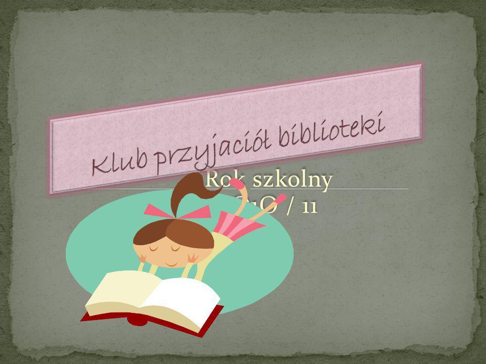 Klub przyjaciół biblioteki