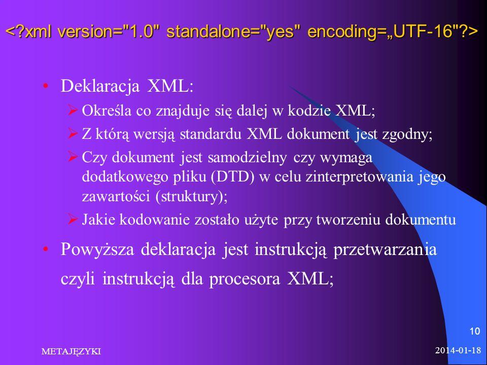 """< xml version= 1.0 standalone= yes encoding=""""UTF-16 >"""