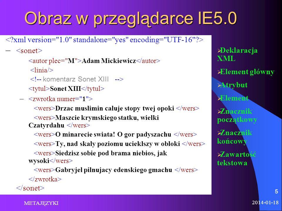 Obraz w przeglądarce IE5.0