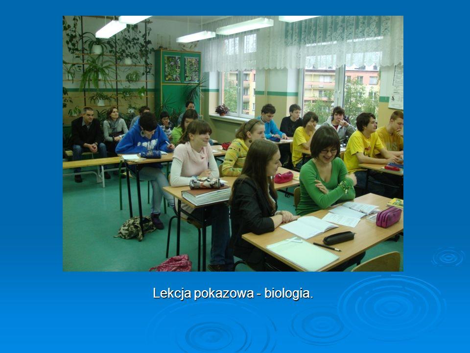 Lekcja pokazowa - biologia.