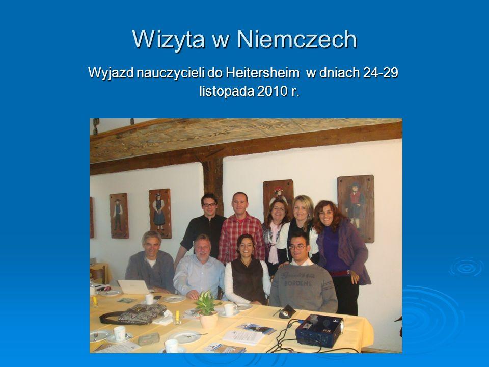 Wyjazd nauczycieli do Heitersheim w dniach 24-29 listopada 2010 r.