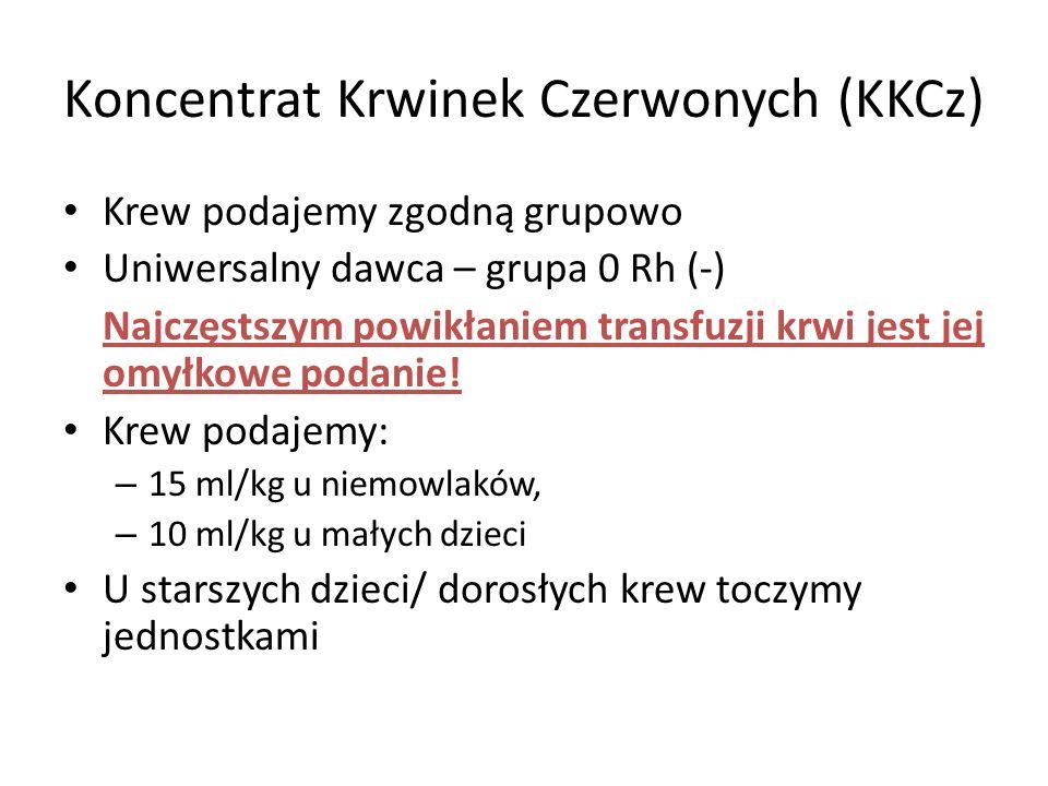 Koncentrat Krwinek Czerwonych (KKCz)