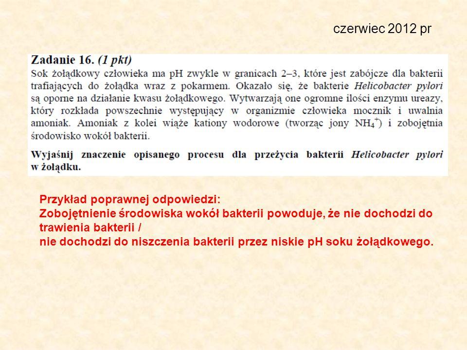 czerwiec 2012 pr Przykład poprawnej odpowiedzi: