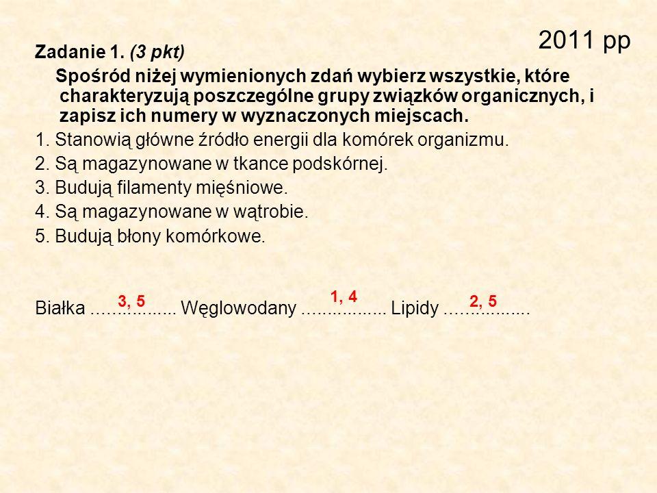 2011 pp Zadanie 1. (3 pkt)