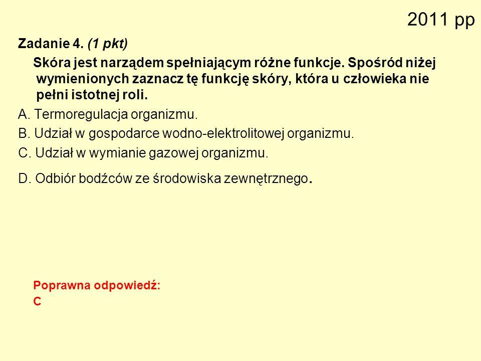2011 pp Zadanie 4. (1 pkt)