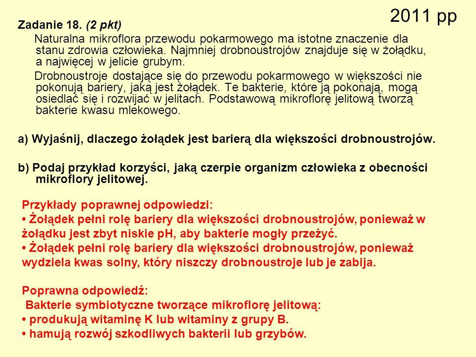 2011 pp Zadanie 18. (2 pkt)
