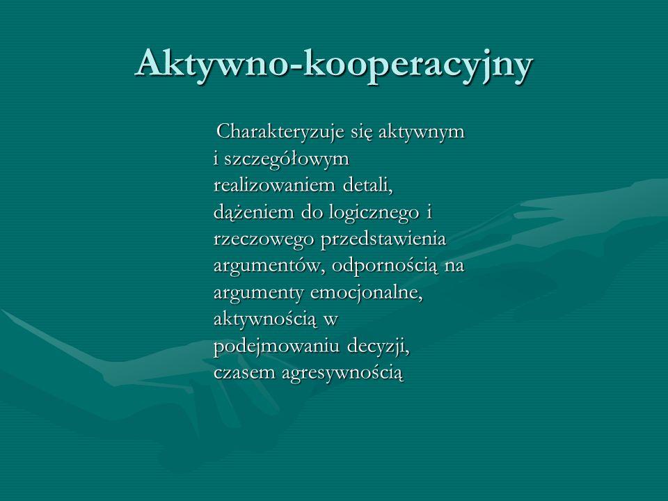 Aktywno-kooperacyjny