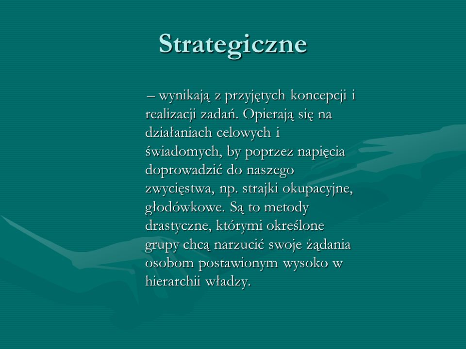 Strategiczne