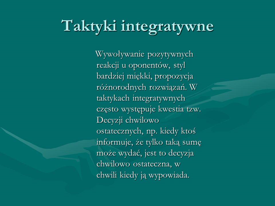 Taktyki integratywne