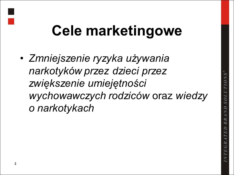 Cele marketingowe