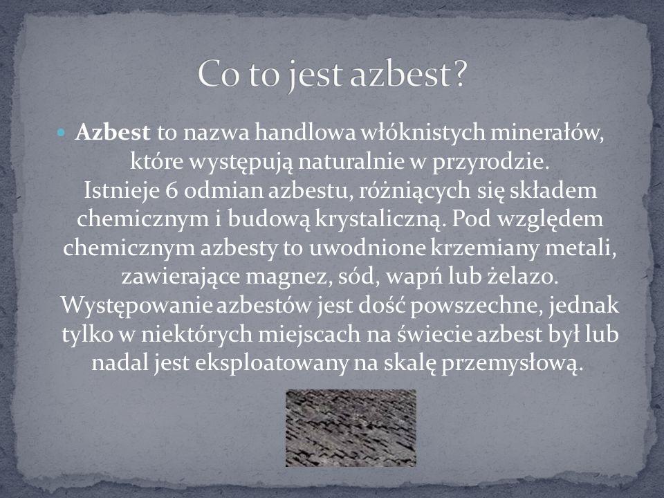Co to jest azbest