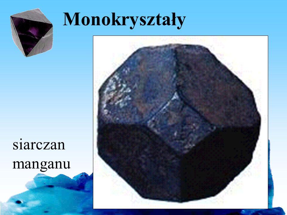 Monokryształy siarczan manganu Bartosz Jabłonecki