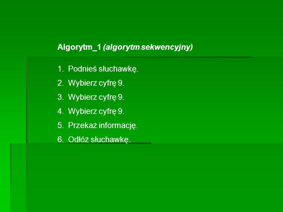 Algorytm_1 (algorytm sekwencyjny)