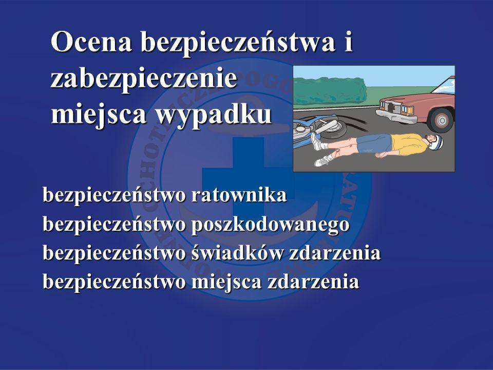 Ocena bezpieczeństwa i zabezpieczenie miejsca wypadku