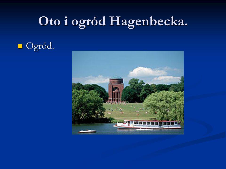 Oto i ogród Hagenbecka. Ogród.
