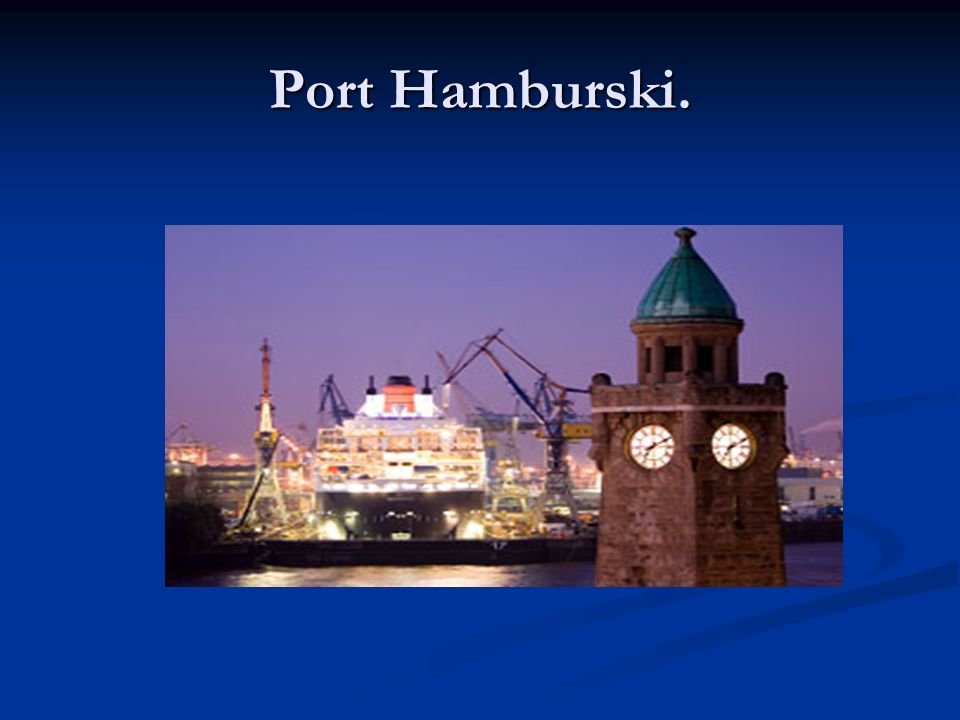 Port Hamburski.