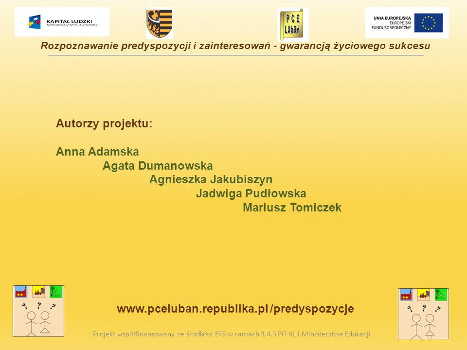 www.pceluban.republika.pl /predyspozycje