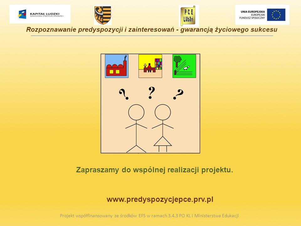Zapraszamy do wspólnej realizacji projektu.