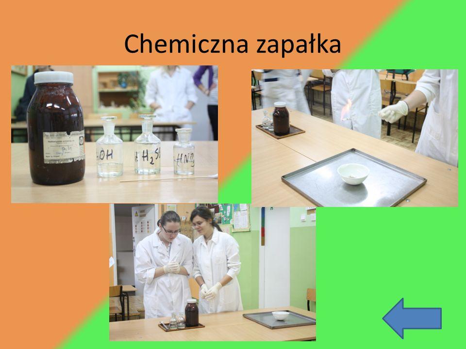 Chemiczna zapałka