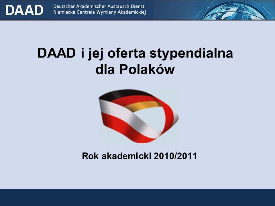 DAAD i jej oferta stypendialna dla Polaków