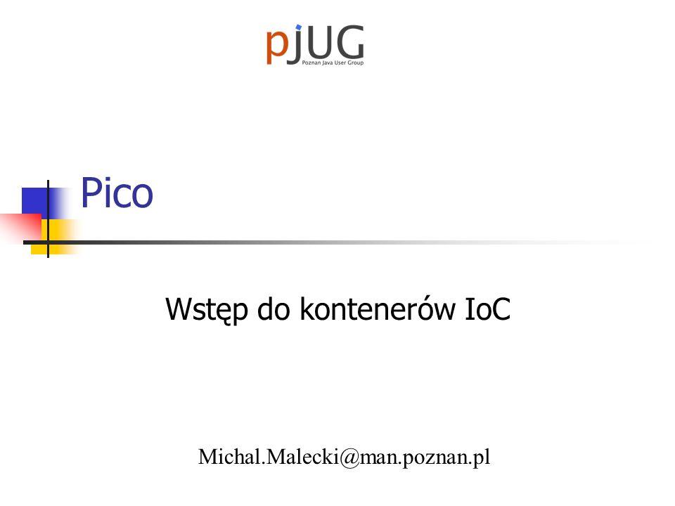 Wstęp do kontenerów IoC