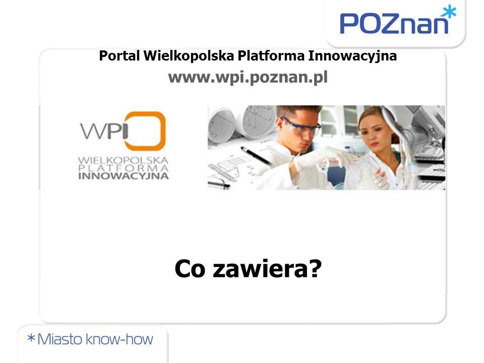Portal Wielkopolska Platforma Innowacyjna