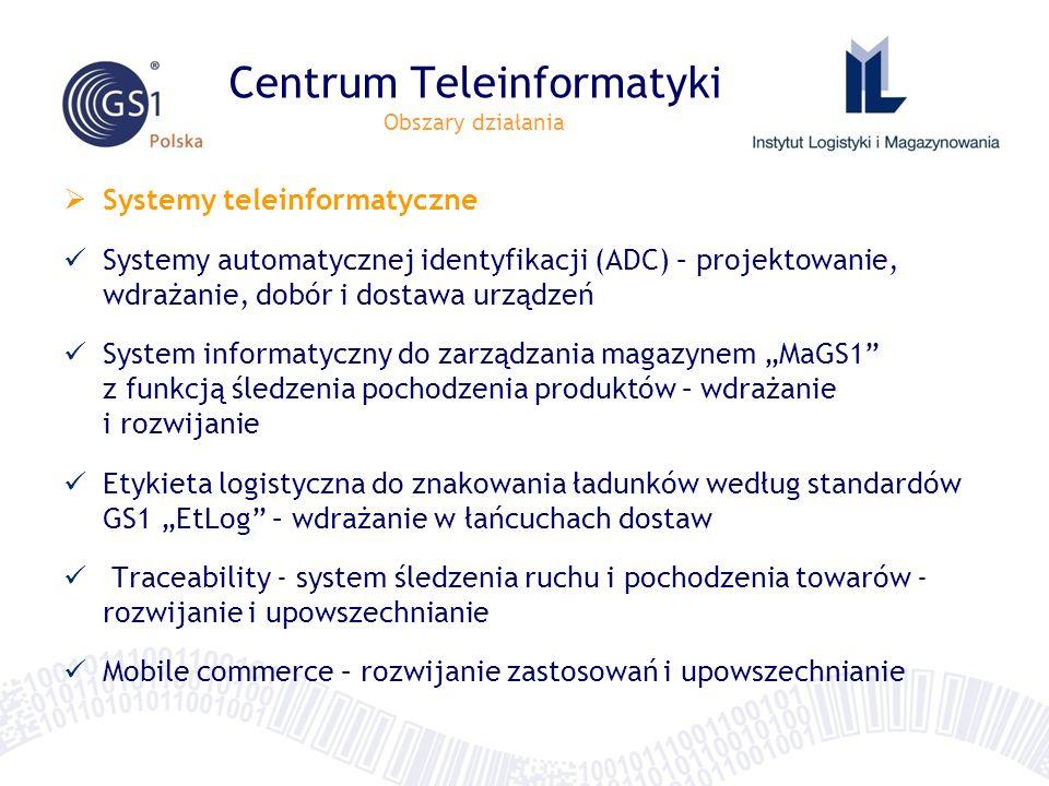 Centrum Teleinformatyki Obszary działania