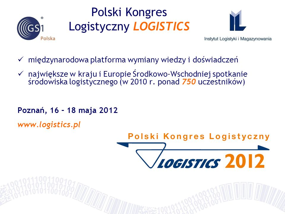 Polski Kongres Logistyczny LOGISTICS