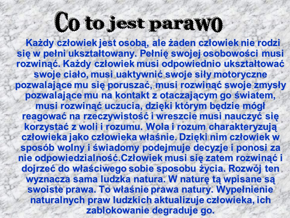 Co to jest parawo