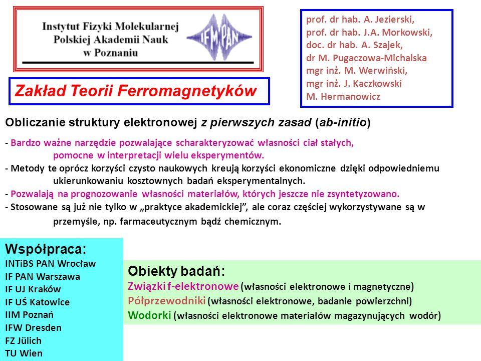Zakład Teorii Ferromagnetyków
