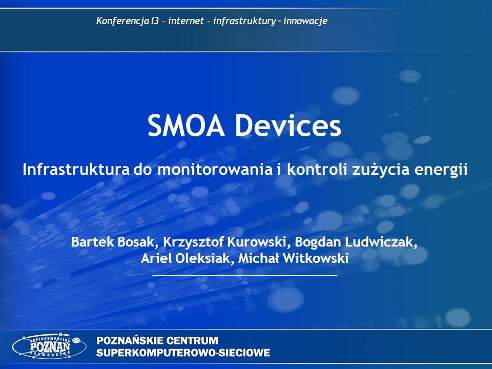 Infrastruktura do monitorowania i kontroli zużycia energii