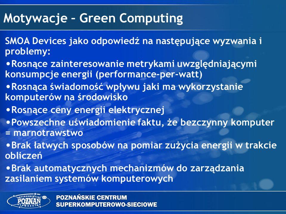 Motywacje – Green Computing