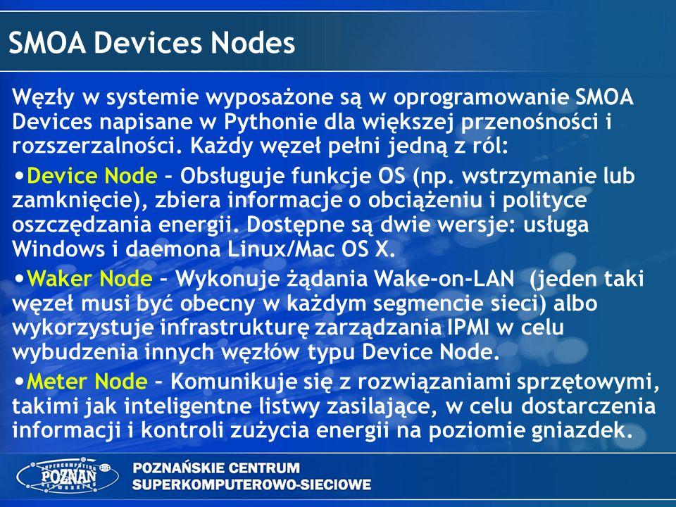 SMOA Devices Nodes