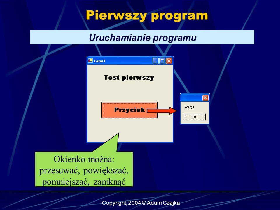 Uruchamianie programu